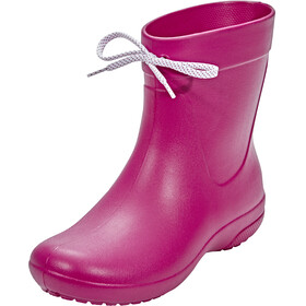 Crocs Freesail Shorty Rain Boots Women Berry